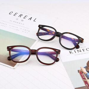 Clear Lens Glasses Nerd Geek Fake Eye Wear Men Women Fashion Square Frame Black