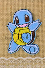 Squirtle Pocket Monster pants hat Iron on Embroidered Badge Applique Patches U23