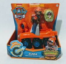PAW Patrol, Dino Rescue Zuma Deluxe Rev Up Vehicle with Mystery Figure NEW