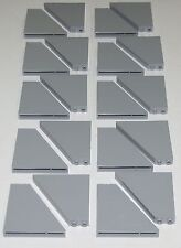 Lego Lot of 20 Light Bluish Gray Slope 55 6 x 1 x 5 Sloped Pieces Parts