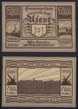 [21585] - NOTGELD UJEST (heute: Ujest), Stadt, 700 Mark, 27.05.1923, Müller A360