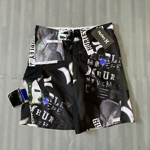 Hurley Boys The Essence Of Surf Board Shorts / Trunks  Size 14/27  NEW NWT