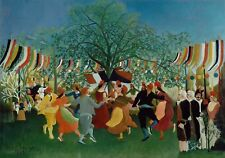 La PITTURA Henri Rousseau INDIPENDENZA FRANCESE GRANDE wall art print poster LF2472