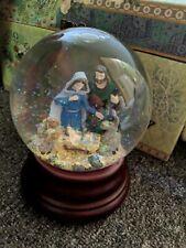 "Music Box Company ""O Little Town Of Bethlehem"" Snow Globe"
