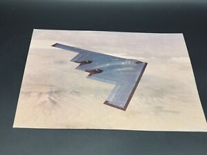 8x10 Photo Print Stealth B-2 Spirit Bomber Northrop Grumman Spy Plane