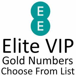 EE UK ELITE GOLD VIP BUSINESS EASY MOBILE PHONE NUMBER DIAMOND PLATINUM SIM CARD