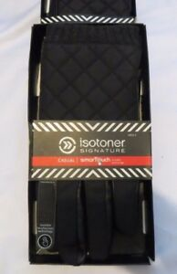 Men's ISOTONER Signature CASUAL SmarTouch Black Gloves MSRP $55