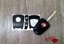 Nero di carbonio adesivo decalcomania Vauxhall Astra Opel Corsa Vectra Meriva Tigra Zafira