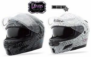 Gmax Divas Snow Gear DSG GM54S BK or WH Aztec Modular Snow Helmet Choose Size