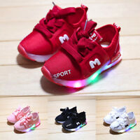 Toddler Baby Kids Girs Led Light Shoes Boys SoftS Luminous Outdoor Sport Sandals