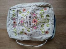 More details for bible carrying case material embroidered count your blessings from natural life