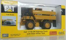 Norscot Diecast 1/50 Cat 777d Off Highway Truck Klein Water Tank Caterpillar