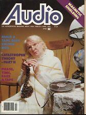 Audio Magazine Apr 1979Quad 405, Sencore PR-50, Studio 1 Preamp, Studio 2 Amp