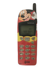 NOKIA 5160 MICKEY MOUSE RED VINTAGE WORKING CELL PHONE W/ CHARGER