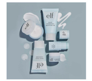 e.l.f ELF, Jet Set Hydration Kit, 5 Piece, Cleanser Balm Night Cream Eye Moist..