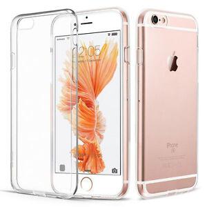 Coque Étui Transparent Apple IPHONE 6 6s Protection Slim Case Silicone TPU