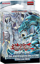 YuGiOh! Saga of Blue-Eyes White Dragon Deck SDBE-EN Rare Single Card SpellTrap+