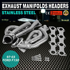 97-03 Ford F150 Stainless Steel Exhaust Manifolds Headers 5.4 Shorty F-150 EGR