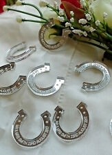 Personalised Horseshoe Wedding Favours x50 Table Decorations Scatters Confetti