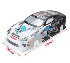 1/10 Onroad Rc Car Body Shell 190mm For Tamiya tt01 tt02 tt01e Hpi Rs4 Sprint2