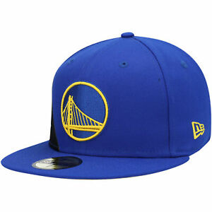 Golden State Warriors New Era Label 59FIFTY Fitted Hat - Royal