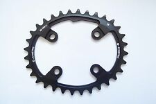 Osymetric Aluminum Bicycle Chainring BCD112x4 36T Black #264169