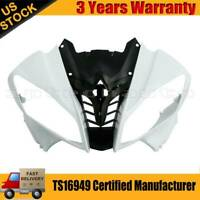 Unpainted ABS Plastic Front Upper Nose Cowl Fairing For Yamaha YZF R6 2008-2016