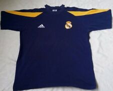 Real Madrid Old Vintage Training Soccer Football Jersey Spain Short Sleeve Sz M