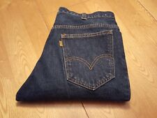 Mens LEVIS Big E Jeans 646 Vintage Bell Bottom Orange Tab Denim 32 x 32 USA NWOT