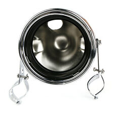 """Motorcycle Chrome Headlight Assembly Casing Mounting for 7"""" Headlamp Cafe Racer"""