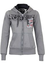 Geographical Norway Donna Felpa Gwen Lady Hooded Sweatshirt hoodie Logo Casual 5 / Xx-large Grigio