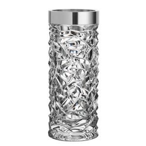 Neu Orrefors Kristall Carat Vase Groß #6590124 Brand Feder Save $$ Schöne F / Sh