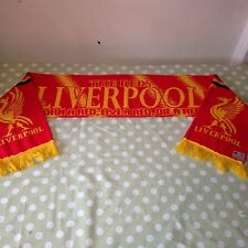 Vintage Retro LIVERPOOL Football Club Scarf - BORN A RED LIVE A RED DIE A RED