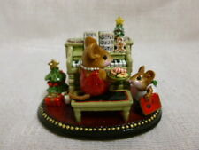 Wee Forest M-282b Her Music Lesson Christmas Special Retired