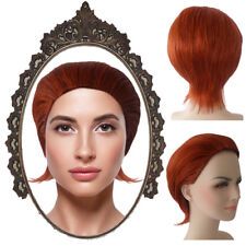 Adult Women Mutants The Mystique Style Orange Cosplay Party Costume Wig HW-190A