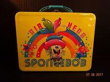 Sponge Bob Embossed Metal LUNCHBOX 2011 Viacom International