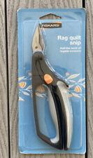 FISKARS SOFTOUCH RAG QUILT SNIP, Heavy Duty Cutting, New Sealed In Original Box