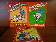 3 COMICS DON QUIJOTE EN ALEMÁN. año 1972-HISTORIA COMPLETA. ILUSTR. POR LANDOLFI