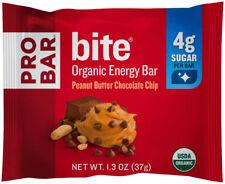 Probar Bite Bar: Peanut Butter Chocolate Chip, 1.3oz, Box of 12
