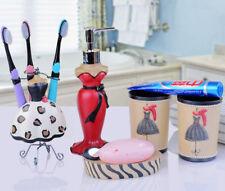 Bath Soap Dish Liquid Dispenser Storage Holder Lotion Gargle Cup Shelf Bathroom