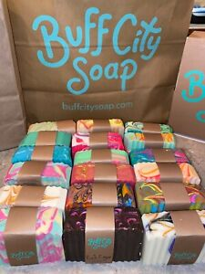 BUFF CITY SOAP ASSORTED FRESH MADE BAR SOAPS / YOU PICK ! / BRAND NEW