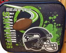 NFL Seattle Seahawks 3D Raised Graphics Lunch Bag, NEW