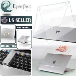 For MacBook Pro 13 Touch Case Clear Shell Keyboard Cover A2159 2289 2338 M1 1706