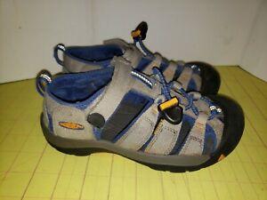 Keen Gray Blue Waterproof Footwear Sandals Youth Size 2