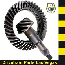 "USA Standard GM Chevy 9.5"" 14 Bolt Ring and Pinion Gear Set 4.56 Ratio"