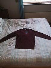 Pierre cardinParis Burgundy Fine Knit Mens Jumper Sweater