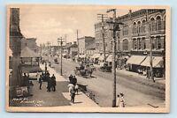 Prescott, Ontario, Canada - 1900s STREET SCENE - CARRIAGES - POSTCARD