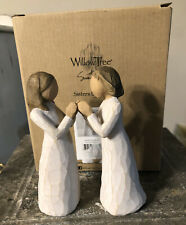 New ListingWillow Tree Sisters by Heart two sisters New Never Displayed