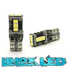 2x LED Standlicht T10 Xenon Weiß W5W Opel Astra F G H J Corsa C D 9 LED Can-BUS