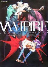 JAPAN Darkstalkers Vampire Graphic File CAPCOM art book
